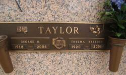 Thelma <I>Breeden</I> Taylor