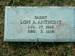 Lon A Anthony
