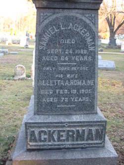 Alletta A <I>Romaine</I> Ackerman