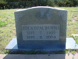 Zola Opal Burns