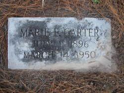 Marie A. <I>Frierson</I> Carter