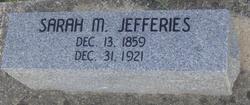 Sarah M. <I>Tipton</I> Jefferies