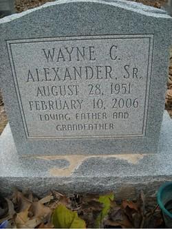 Wayne C Alexander, Sr