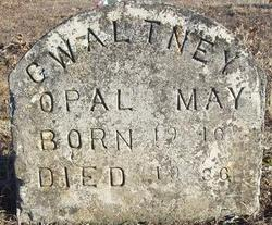 Opal May <I>Hurst</I> Gwaltney