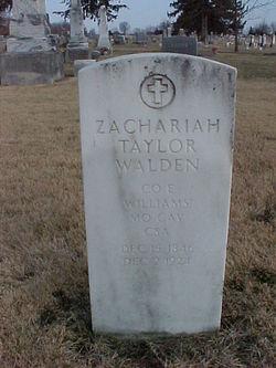 Zachariah Taylor Walden