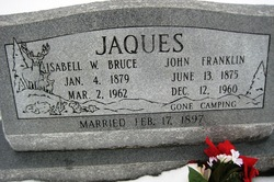 Isabell Wilson <I>Bruce</I> Jaques