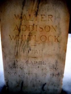 Walter Addison Whitlock