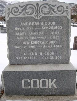 Mary Amanda <I>Pingree</I> Cook