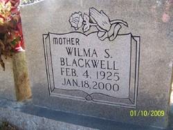 Wilma <I>Sweat</I> Blackwell