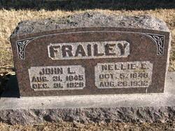 Nellie E. <I>Mapes</I> Frailey