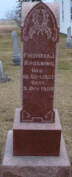 Fredricka <I>Wendorf</I> Kroening