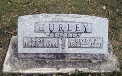 Rosa Ellen <I>Hooker</I> Hurley