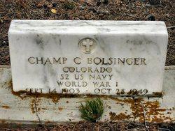 Champ Clark Bolsinger