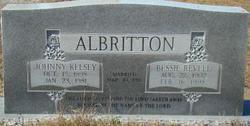 Bessie <I>Revell</I> Albritton