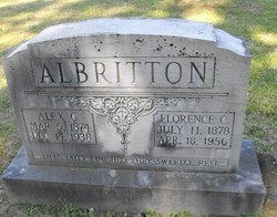 "George Alexander ""Alex"" Albritton"