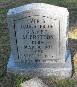 Ever B Albritton