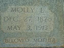 """Mary Lathella """"Molly"""" <I>Taylor</I> Collins"""