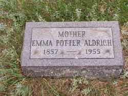 Emma <I>Shue</I> Potter Aldrich