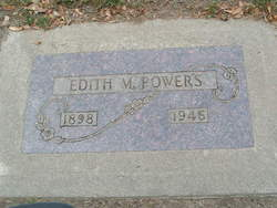 Edith Marilla <I>Warner</I> Powers