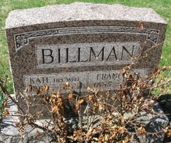 "Katherine ""Kate"" <I>Eubank</I> Billman"