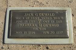 Jack G Dewald