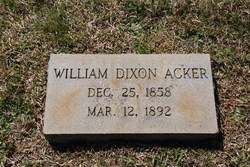 William Dixon Acker