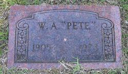"""W. A. """"Pete"""" Albritton"""