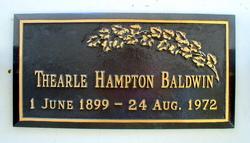 Thearle Hampton Baldwin