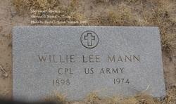 Willie Lee Mann