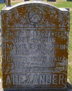 Mame H Alexander