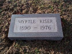 Myrtle <I>Collins</I> Kiser