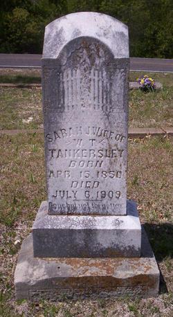 Sarah Jane Bruce Tankersley (1850-1909) - Find A Grave ...