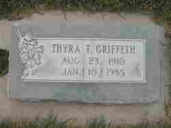 Thyra <I>Talbot</I> Griffeth