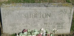 Violet F. <I>Harp</I> Shelton