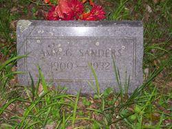 Amy G Sanders
