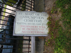 Saint Mary of the Assumption Churchyard