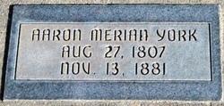 Aaron Mereon York, Sr