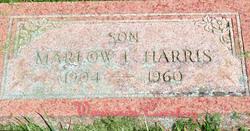 """Marlow L. """"Pete"""" Harris"""