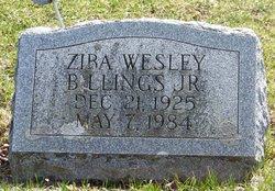 Ziba Wesley Billings, Jr