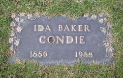 Ida Emma <I>Baker</I> Condie