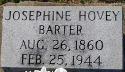Josephine <I>Hovey</I> Barter