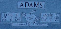Archie C Adams