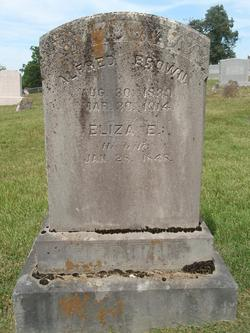 Ellen Eliza <I>Lindamood</I> Brown