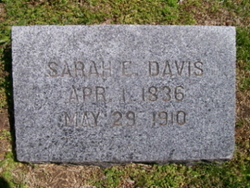 Sarah Elizabeth <I>Smith</I> Davis