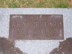 Thomas W Weatherford