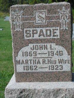 Martha R. <I>Miller</I> Spade