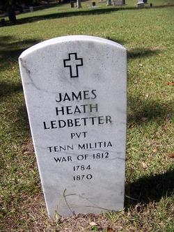 Pvt James Heath Ledbetter