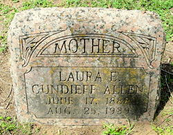 Laura E <I>Daugherty</I> Cundieff Allen