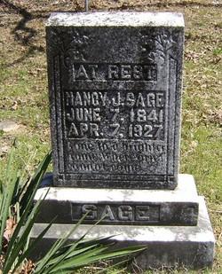 Nancy Jane <I>Rice</I> Sage