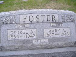 Mary A. <I>Hunt</I> Foster